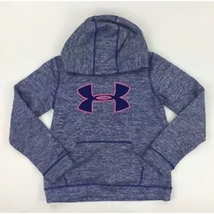 Under Armour Girls Youth M Purple Pink Hoodie